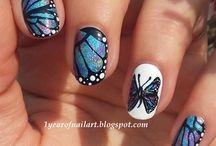 nail motyl
