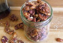 Gluten free snacks with pecans