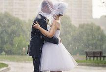 Novia mojada, novia afortunada!! / Por que una boda con lluvia también puede ser maravillosa!!