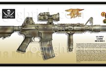 Mk18 Mod 1 / A custom paint job for the Mk18 Mod 1 weapons system