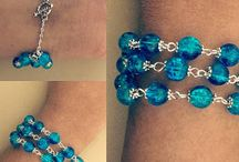 Crackle Bead Bracelets