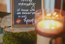 Remembrance Ideas / Remembering loved ones on your wedding day.