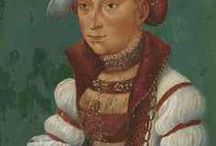 16thC: Frazzled Frau- Cranach / Portraits by the Cranach family of painters. The old Frazzled Frau site is being rebuilt, these pins are an alternate option