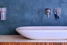 Badkamer stucwerk / Inspiratiebron voor het vinden van stucwerk voor in de badkamer