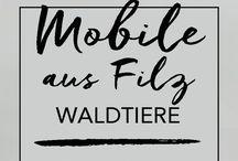 DIY Filz / Tutorials, Anleitungen und DIYs mit Filz.