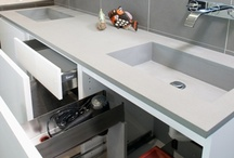 Kitchen Storage Ideas / Many kitchen storage accessories and add-ons are available to make your kitchen a nicer place to be. From Apothecary Drawers to built in cutting boards. We can help you keep your kitchen organized and functional.
