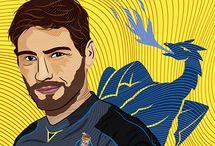 Iker Casillas Digital Art (Tribute).