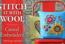 Wool Crewel Embroidery