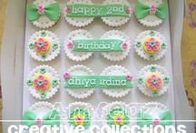 cupcakes collection / collection of home made cupcake