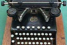 Vintage cameras, typewriters & phones / My hearts desired collection / by Saskia Bruinders