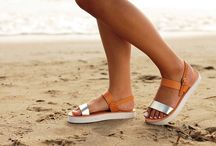 "Leather Handmade Sandals ""Zakinthos"" col. Natural / Platinum / Flatform White Sole"