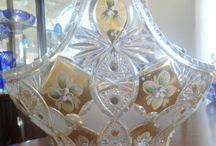 All Things Beautifull / Crystal - Bohemian Glass - Cut Glass etc. / by Grace Dunn