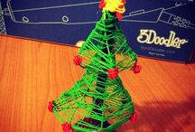 Creative Christmas - 3Doodled Decorations / Grab and 3Doodler Create and show us what you make! http://www.maplin.co.uk/3doodler