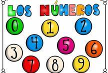 Cartaz de números
