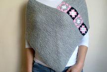 Poncho shawl