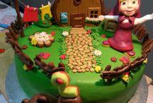 Olga / Torta di Masha e Orso