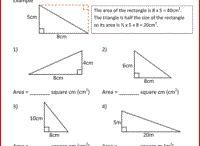 Classroom - numeracy - area
