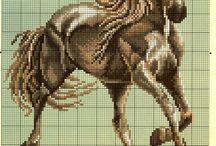 křížek koně