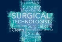 Scrub, eat, sleep, repeat.   / My job as a surgical technologist.  / by Veronica Palmer