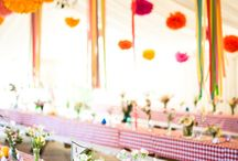 outdoor party spaces / by Alexandra Holliday Toppins