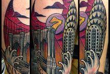 RR: Our Travel Tattoos / http://www.theroamingrenegades.com/2012/12/tattoos.html