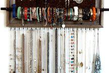 Jewelry Organizers / by Melissa Ohmes Hatfield