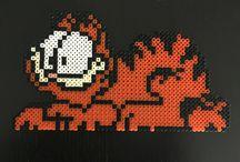 Garfield / Garfield perle hama
