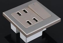 Sockets & Plugs / sockets for home. travel plugs