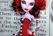 Monster High, Ever After High dolls and crochet / Monster High, Ever After High dolls and crochet