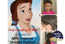Disney Theme Hairstyles / Easy DIY Disney theme hairstyles for girls. / by Stacy-Ann Gooden