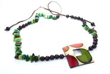 Beautiful Tagua Necklaces from Colombia / Handmade jewellery using the Tagua nut, which is most known as the vegetable ivory