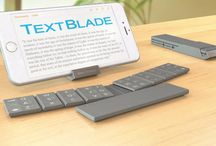 Keyboards for mobile working / Portable bluetooth keyboards for doing sustained work on-the-go