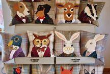 art cushion