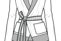 tegning av klær