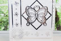Embossing Folders / Here you can find card samples, used our embossing folders. For more information please visit www.tatteredlace.co.uk