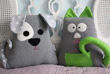 Poduszki i przytulanki