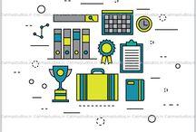 Atma  - Iconography / Icon Design / Illustration In Branding