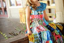 Little Gypsy Queen / Creative Inspiration for the Handmaiden's Cottage Little Gypsy Queen Girl's Dress PDF Sewing pattern