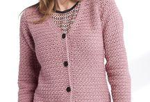 Crochet ladies top