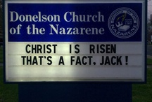 Church signs / Church signs