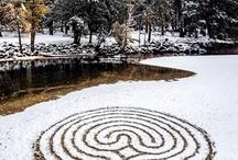 Labyrinth Mandala Inspiration