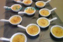 Crème brûlée au roquefort
