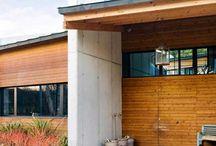 Fachadas de madera / Fachadas de madera para su casa, combinadas o revestidas con otros materiales. Ideales para entornos rurales o diseños ecológicos o con inspiración natural.