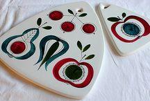 svenskt porslin och keramik