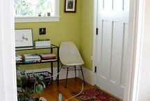 Paint color ideas for the Hoodak Cottage / by Kara Wolf-Hoodak