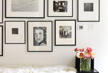Gallery walls and wall deco