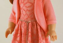 Pretty clothes  for American girl dolls