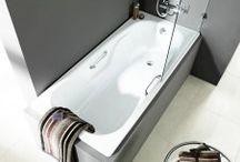 equipamiento de baños / equipamientos de baños, mamparas, sanitarios, griferías, etc