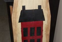Painted ironing boards / by (Country Lane Folk Art) Becky Levesque