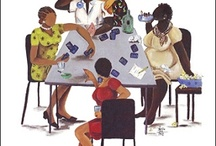 """Hanging out with Friends"" / by Kathleen Fullwood"